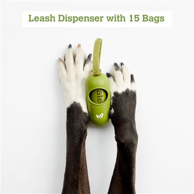 Leash Dispenser for Poop Bags by Earth Rated