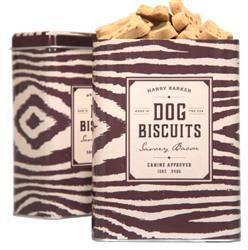 Zebra Biscuit Tin