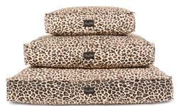 Leopard Cotton Canvas Bed