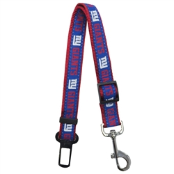 NFL New York Giants Seat Belt Strap