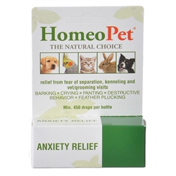 HomeoPet Anxiety Relief for Dogs and Cats