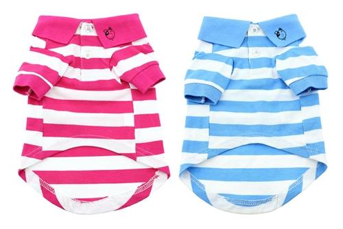 Stripe Polo - 100% Cotton