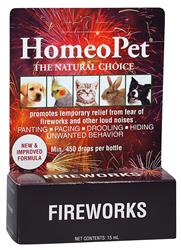 HomeoPet Fireworks for Dogs and Cats (Formerly Anxiety TFLN)