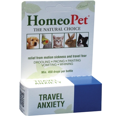 HomeoPet Travel Anxiety for Dogs and Cats