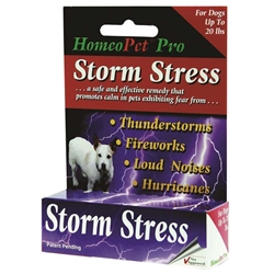 HomeoPet Storm Stress K-9 (Under 20lbs)