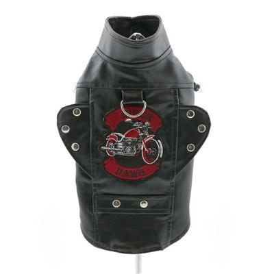 Biker Dawg Motorcycle Jacket - Black