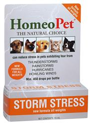 HomeoPet Storm Stress for Dogs and Cats