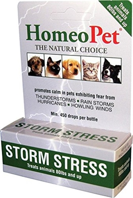 HomeoPet Storm Stress K-9 (80 lbs and up)