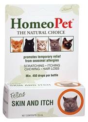 HomeoPet Feline Skin and Itch Relief