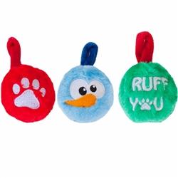 Plush Ornaments - 3 pack