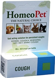 HomeoPet Cough for Cats and Dogs