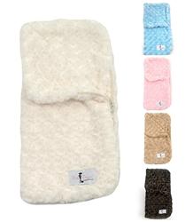 Snuggle Pup Sleeping Bags: Cream