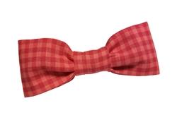 Bowtie - Pink Plaid