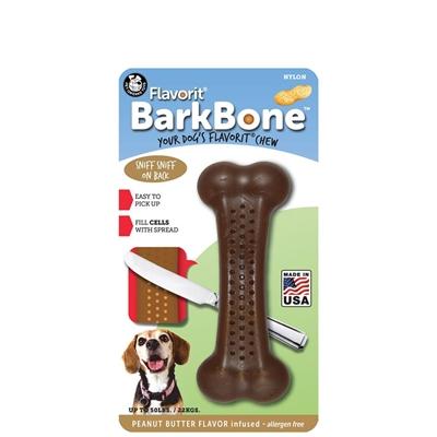 PEANUT BUTTER Medium Flavorit BarkBone Nylon Chews