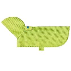 Packable Rain Poncho - Lime Halftone