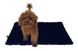 Small Magic Mat, Black Mink Plush