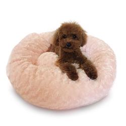 Pink Rosebud Crispy Crème Donut Bed