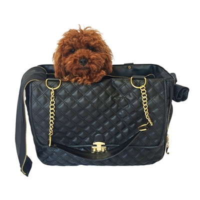 Rodeo Signature Quilted Travel Bag in Classic Black