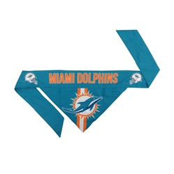 NFL Miami Dolphins Dog Bandana
