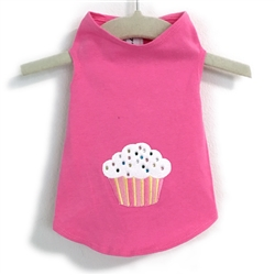 Cupcake Applique Tank by Daisy and Lucy