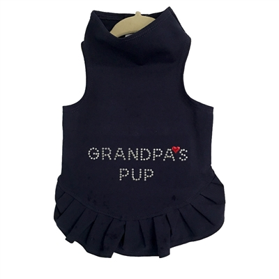 Grandpa's Pup Studs Flounce Dress