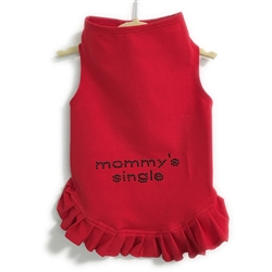 Mommy's Single Studs Flounce Dress