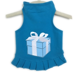 Blue Box Flounce Dress
