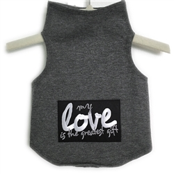 My Love Is The Greatest Gift Valentine Tank