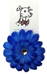 Silk Flower in Cornflower Blue by Huxley & Kent