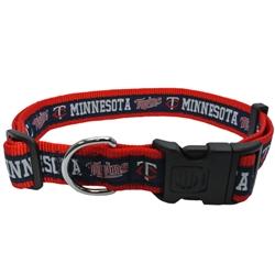 Minnesota Twins Dog Collar and Leash – RIBBON