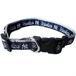 New York Yankees Dog Collar and Leash – RIBBON