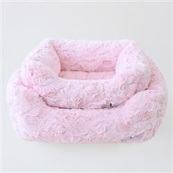 Bella Dog Bed: Pink
