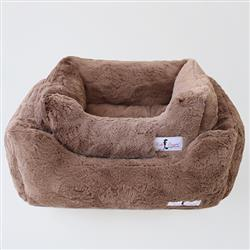 Bella Dog Bed: Mocha