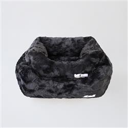 Bella Dog Bed: Black