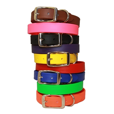 Waterproof Sparky's Standard Buckle Collars - 9 Colors