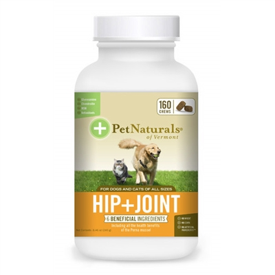 Hip & Joint for dogs and cats (160 Chews)
