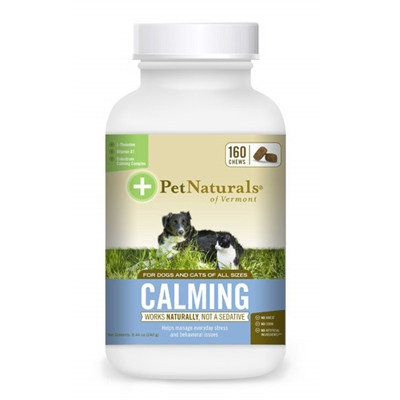 Calming for dogs and cats (160 Chews)