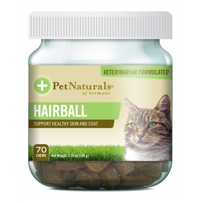Hairball for cats (70 Chews)