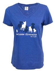 Women's Fit - Welcome Diversity T-shirt
