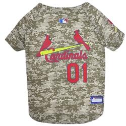 St Louis Cardinals Dog Jersey  -  CAMO