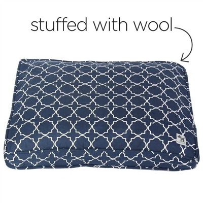 romeo & juliet sheepy wool-filled bed