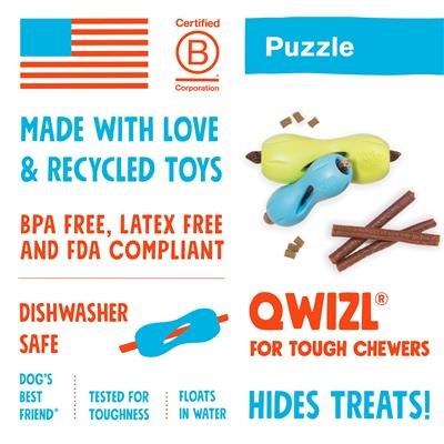 Qwizl - Puzzle & Treat Toy