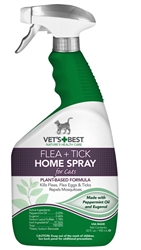 Vets Best Cat Tick Home Spray (32 oz)