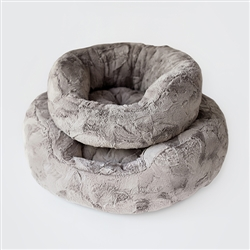 Amour Dog Bed: Taupe