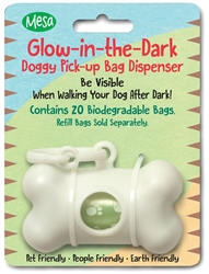 Glow-in-Dark Bag Dispenser