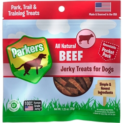 Parkers Beef Jerky Pocket Pack (1.25oz)