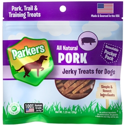 Parkers Pork Jerky Pocket Pack (1.25oz)
