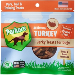 Parkers Turkey Jerky Pocket Pack (1.25oz)