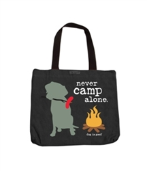 Never Camp Alone Tote
