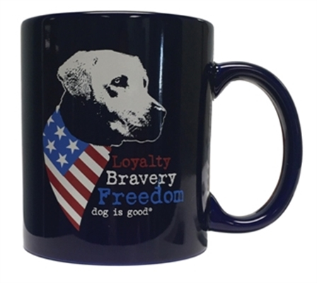Freedom Dog 4 pk mug set